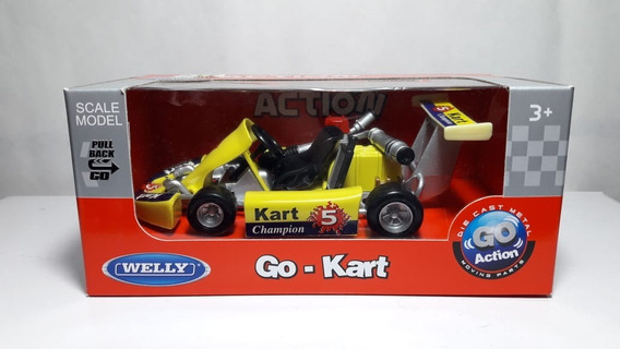 Welly 1.19 Go-kart 92670 Action Envio Gratis Caba