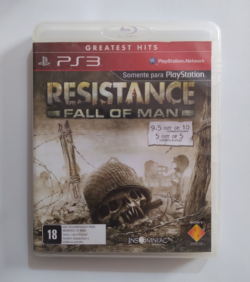 Resistance Fall Of Man - Ps3 Playstation 3 Original