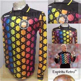 Camiseta Dinamarca Homenaje Peter Schmeichel Euro 92