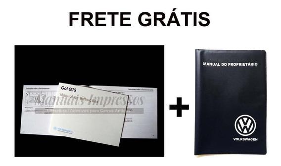 Manual Do Proprietario Vw Gol Gts 88 1988 + Capa