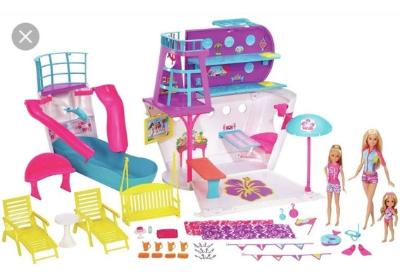 Barbie Navio Cruzeiro - Mattel Fhw46