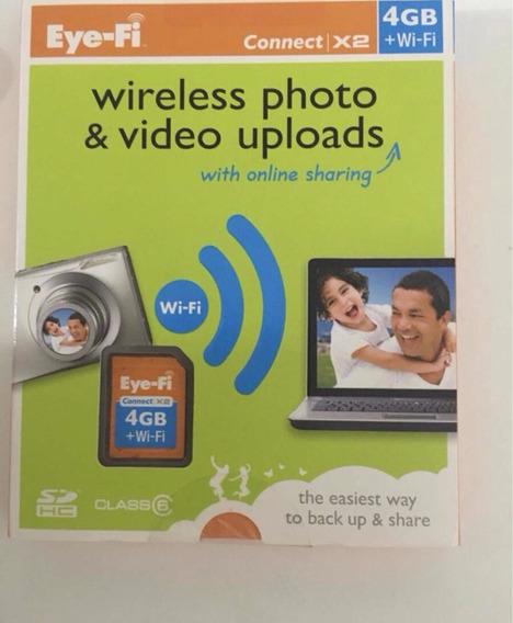 Cartão Sd Wifi 4gb E Adaptador Cf