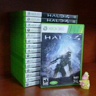 Halo 4 Xbox 360 Garantizado En Español * Mundo Abierto Vg *