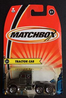 Miniatura Matchbox Tractor Cab 2004, Em Escala 1/64