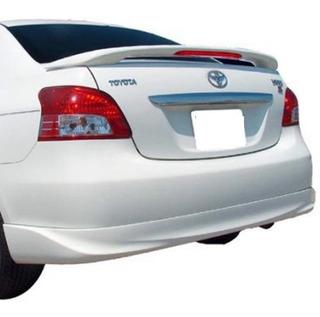 Spoiler Aleron Toyota Yaris Sedan 06-13 Blanco Envio Gratis