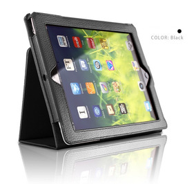 Capa iPad Book Case Couro Sintético iPad 2 3 4 Tela 9.7