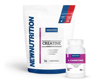 Kit Creatina + L-carnitina Newnutrition
