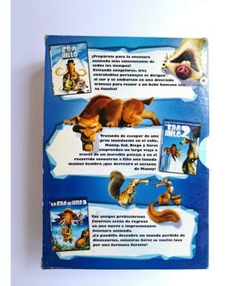 La Era De Hielo 1,2 Y 3 (box Set Dvd )