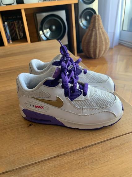 Zapatillas Nike Air Max Talle 26 Niños