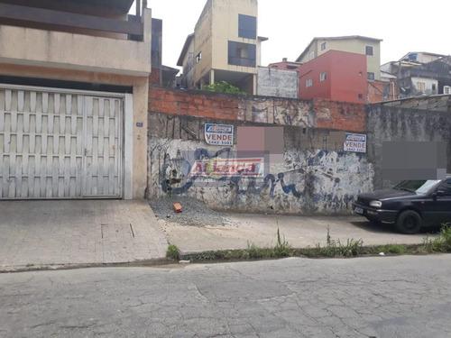 Terreno À Venda, 250 M² - Jardim Rosana - Guarulhos/sp - Ai2693