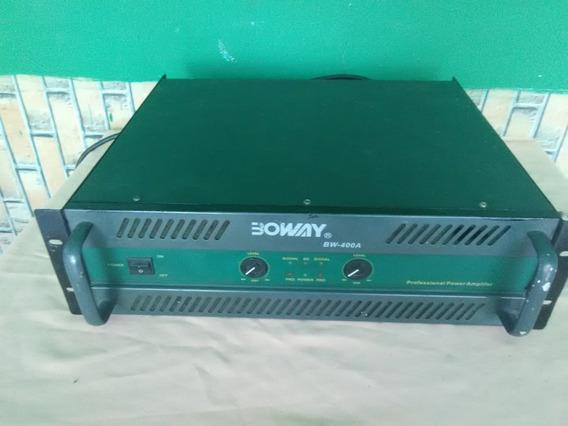 Oferta Power Amplificador Boway Bw-400a Operativo (90verdez)