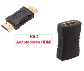 (frete Barato) Kit 2 X Adaptadores Hdmi !!!