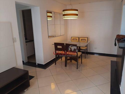 Imagem 1 de 24 de Apartamento Com 3 Dormitórios À Venda, 79 M² Por R$ 525.000,00 - Aparecida - Santos/sp - Ap0901
