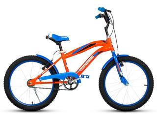 Bicicleta Bmx Top Mega Crossboy Rodado 20 V-brake Nene Nena