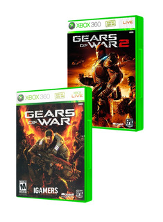 Gears Of War 1+2 Xbox360 Seminuevo En Igamers