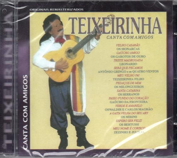 Cd Teixeirinha - Canta Com Amigos