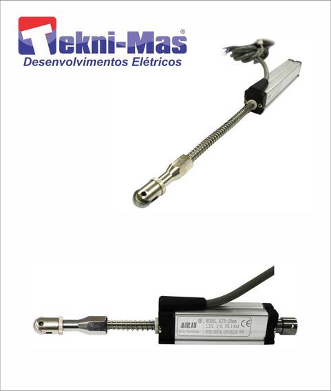 Régua Potenciométrica 25mm Retorno Com Mola Ktr25