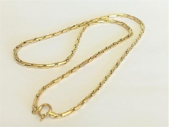 Corrente Cordão Cardana Em Ouro 18 K 750 50,5 Cm