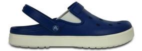 Zapato Crocs Caballero City Sneaks Slim Azul