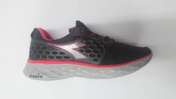 Zapatillas Diadora React W Running Gym Envíos Todo El Pais