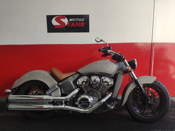 Indian Scout 1150 Abs 2016 Prata