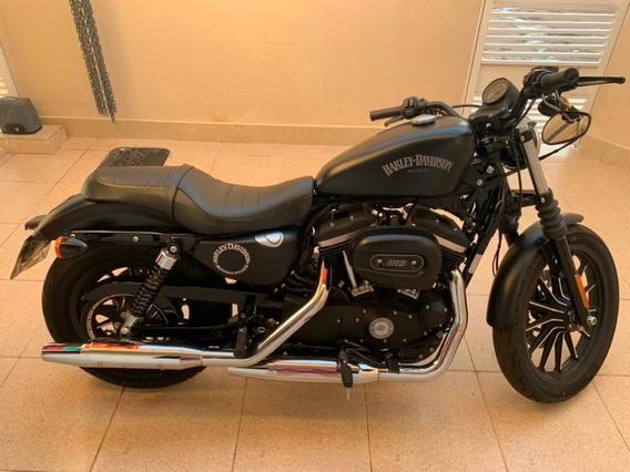 Harley Davidson Iron 883 Xl Preta