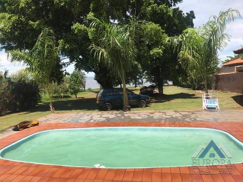 Chácara Com 2 Dormitórios À Venda, 3500 M² Por R$ 480.000,00 - Centro - Alvorada Do Sul/pr - Ch0105
