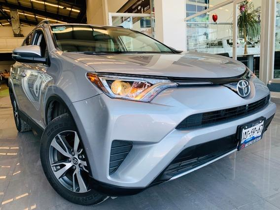 Toyota Rav4 Xle Motor 2.5 2017 Plata 5 Puertas.