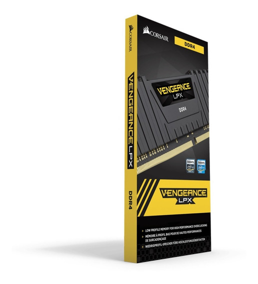 Memoria P/ Pc Ddr4 8gb 3000 Vengeance Lpx Corsair