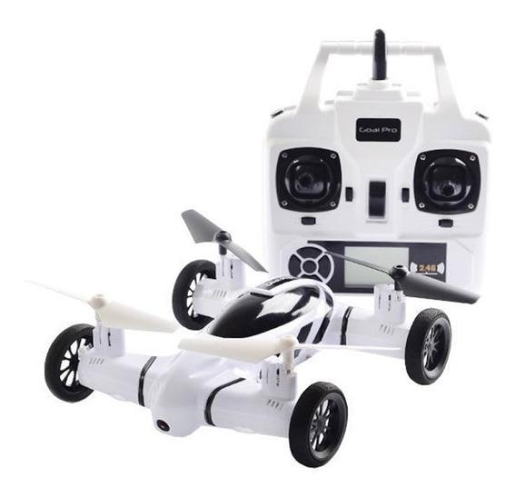 Drone Goal Pro H18 Skyroad - Camera Hd - 2.4ghz - Branco Pv