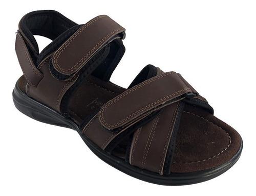 Sandalia Para Hombre 100% Cuero