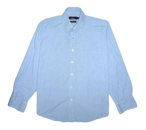 Camisa Manga Larga Azul Claro. Aceptamos Pago Movil