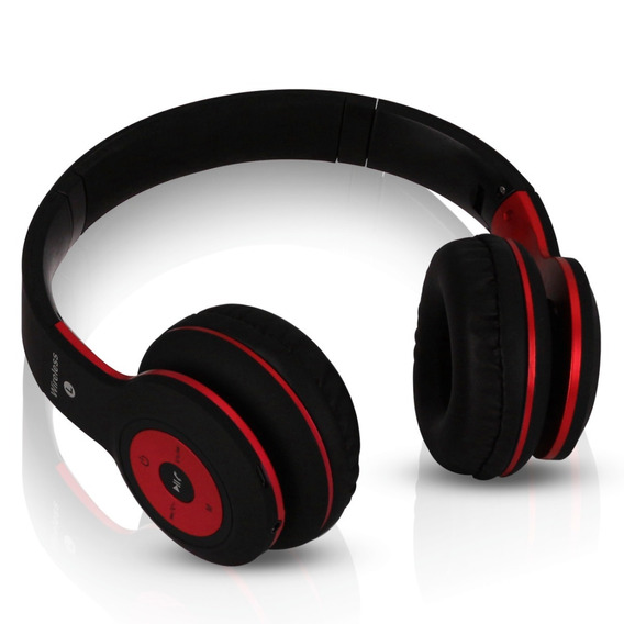 Fone De Ouvido Bluetooth Headphone Mp3 Ear Sport Rádio Fm Sd