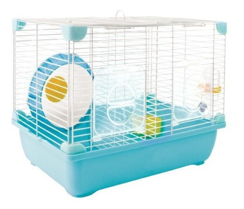 Sunny Jaula Hamster Land Good Neighbour Sp-3635 Azul