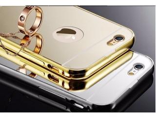 Capa Celular iPhone 6 E 6 Plus Dourada + Caneta Touch