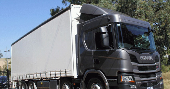 Scania P320 - P310 Com Baú Sider Zero Km 2019