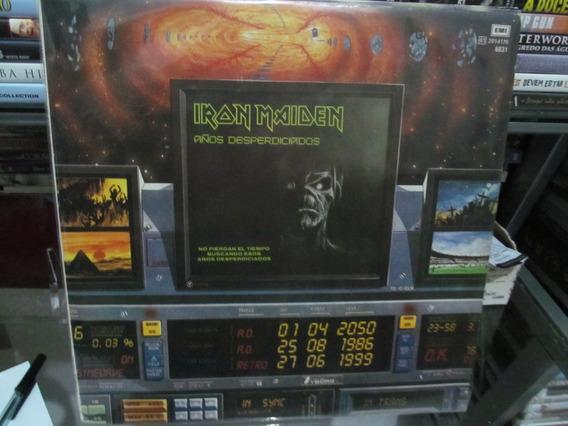 Lp Iron Maiden - Anõs Desperdiciados - Importado Argentina