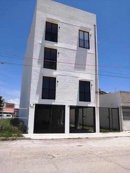 Departamento Atrás De Plaza Comercial Chedraui Pachuca