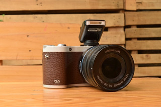 Samsung Nx300 Camara Mirroless 20mplx Full Hd