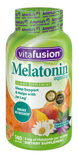 Vitafusion Melatonin Gummy Vitamins, 140 Ct Gummies
