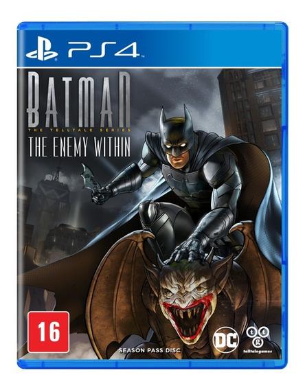 Batman The Enemy Within Ps4 Mídia Física Pronta Entrega