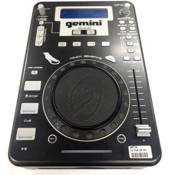 Cd Player Profissional Gemini Cfx-20 Usado Com Nf-e