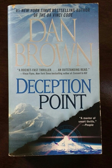 Dan Brown - Deception Point - Livro Em Inglês