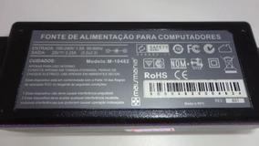 Carregador Fonte Notebook M-10482 20v 3,25a