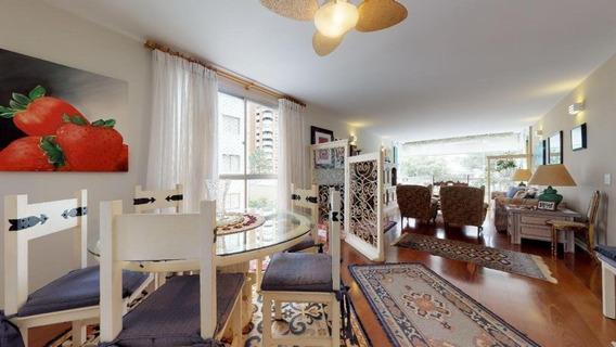 Ótimo Apartamento Em Moema, Com 182m², Próximo A Av. Helio Pellegrino E Pq Do Ibirapuera - Sf28822