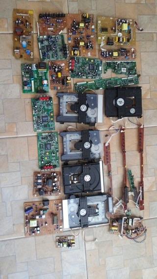 Lote Placa Dvd Gradiente E Philips No Estado.
