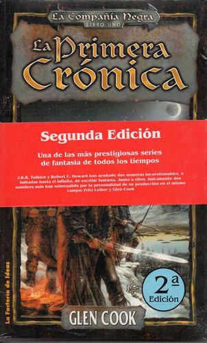 La Primera Cronica - Cook - La Factoria