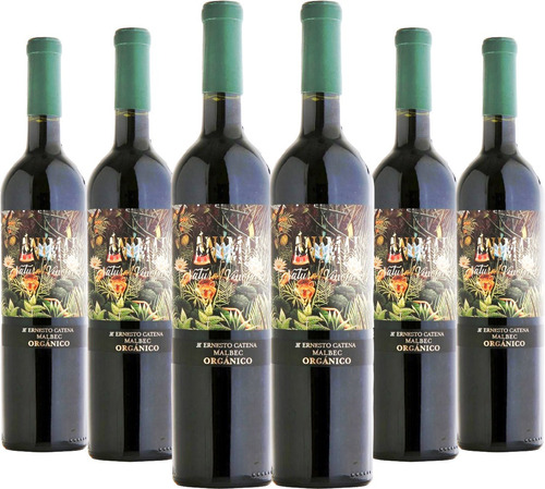 Imagen 1 de 7 de Vino Animal Malbec Organico X6 Oferta Celler