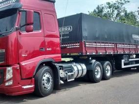 Volvo Fh 460 6x4 Ishift Globetrotter Carreta Ls Ano 2014