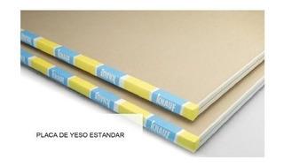 Placa De Yeso Knauf (igual A Durlock) 12,5 Mm